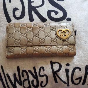 Gucci wallet vintage authentic
